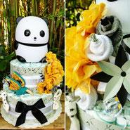 gâteau de couches idée cadeau pour petit garçon