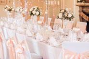 Hochzeitsdekoration, Dekoration, Geburtstag, Taufe, festliche Dekoration,Bonn, Wachtberg, Köln, Tischdekoration