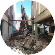 Démolition bâtiment - TTA