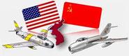 """Jet in Corea : la """"MiG Alley"""" (Cap.2) - La guerra segreta di Stalin."""