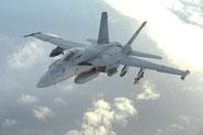 US Navy testa il nuovo missile anti-nave a lungo raggio LRASM sugli F/A-18 Super Hornet.