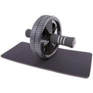Ab Roller Wheel with small mat, for core abdominals and lats