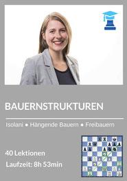 chessemy Kurs, Bauernstrukturen im Mittelspiel, Melanie Lubbe