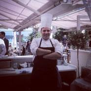 Giulio Alunni, Demi-chef de partie au garde manger,Restaurant Hotel du Parc des Eaux Vives****  Ginevra - Diplomato a.s. 2009/10