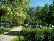 Campground, pitches in drome, diois, vercors