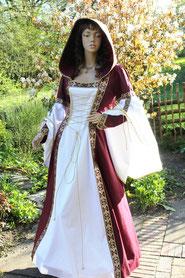 Damengewandung,Mittelalter,Larp,Fantasie,Ma+anfertigung.