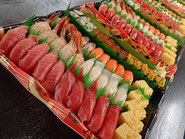 江戸川区に美味しいお寿司を宅配します!