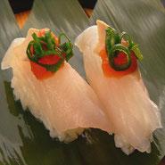 黒酢 黒酢を使った美味しいお寿司