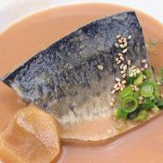 宅配寿司 サイドメニュー さばの味噌煮