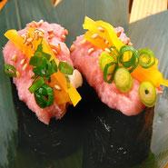宅配寿司 トロタクの軍艦
