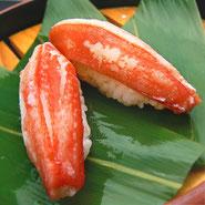 宅配寿司 カニ