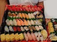 港区から寿司の出前注文