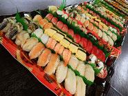 北区中十条まで美味しいお寿司を宅配します!