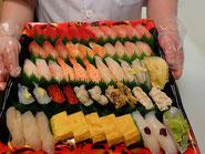 千代田区に宅配したお寿司です