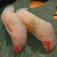 黒酢の寿司 ニザダイ