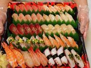 中央区から寿司の出前注文
