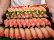 渋谷区から寿司の出前注文
