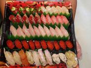 新宿区から寿司の出前注文