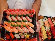 文京区から寿司の出前注文