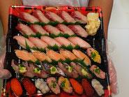 荒川区から寿司の出前注文
