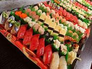 北区田端まで美味しいお寿司を出前します!