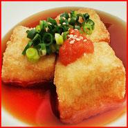 揚げ出し豆腐 宅配寿司 出前