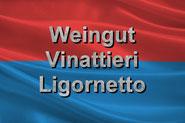 Fly and Wine, Helikopterflug mit Weindegustation, Wappe Tessin Weingut Vinattieri