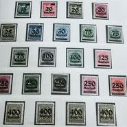 Antikhandel Schaumburg - Briefmarken