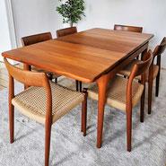 Antikhandel Schaumburg - Tische, Teak, Danish, Design