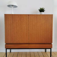 Antikhandel-Schaumburg Sideboard, Highboard Wäckerlin Design Teak