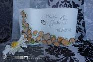 Holzscheiben Hochzeit
