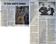 Jimmy Cox Topsham banjo bluegrass Portland Press Herald Stephanie Bouchard