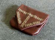 Geldbörse Birka Grab 904 gefaltet
