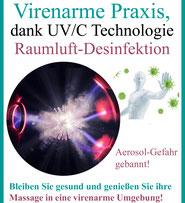 Raumluft Desinfektion mit UV-C Technologie