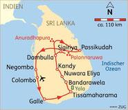 14 Tage Rundreise Sri Lanka Sommer ab 2.179,- € Badeverl. Ostküste mögl