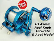 UJ 45mm Reel Knob Accurate Model