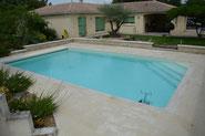 Création d'une piscine traditionnelle charente