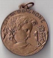 Medaglia Città di Bagnone ai Martiri della Libertà.