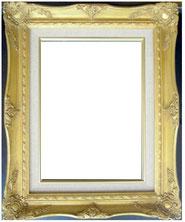 肖像画 額