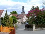 Altentrebgastplatz/Kirche St.Johannis