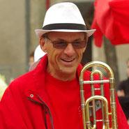 Les Zik'Autain - Fanfare harmonie musicale Autainville Loir-et-Cher région Centre Val de Loire - Le Trombone - Michel