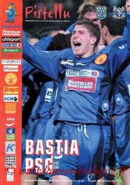 Programme  Bastia-PSG  2002-03