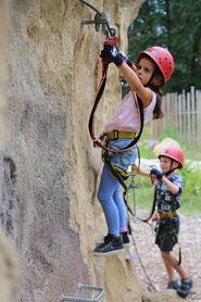 Kletterabenteuer für Groß und Klein