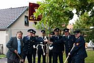 28.-30.06.2013 Lindenblütenfest in Walschleben fand trotz Hochwasser wie geplant statt...