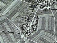 Landkarte: Erstellt ca. 1870