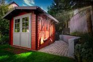 Gerätehaus - Abstelle - Holzhütte - Gartenhaus - Billiges Haus - Was kostet ein Haus