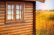 Gartenlaube aus Baumarkt - Sommerhaus - Holzhütte - Eigenleistung -  Mit wenig Geld bauen - Wandaufbau - Qualität - Bausatz - Holz
