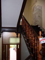 Treppenhausrenovierung und -restaurierung durch Malermeister Ach