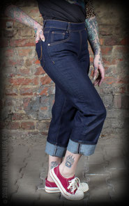 fb6db4eeb14a Damenjeans von Rumble59 - Textilbestickungen
