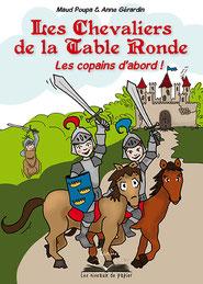Chevaliers de la table ronde Anne Gérardin graphiste Brocéliande
